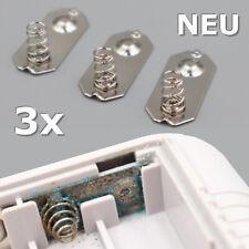 3x GameBoy Classic Batterie Kontakte Feder Blech Halter Deckel Contact Battery