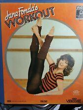 JANE FONDAS WORKOUT - Videodisc (CED) FREE UK P&P! VERY RARE