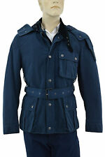 $1.245 BURBERRY Brit Blue Mens Hoodie Coat Jacket EU 48 US 38 M