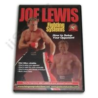 Joe Lewis Karate Martial Arts Fighting Sparring Setup Opponent Techniques DVD