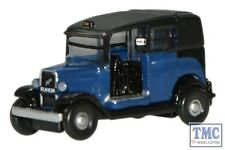 NAT002 Oxford Diecast Blue Low Loader Taxi 1/148 Scale N Gauge
