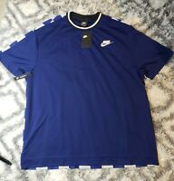 NWT Nike NSW Sports Pack Checkered Shirt Men's XL #AR1634-492