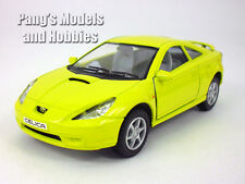 5 inch Toyota Celica 1/34 Scale Diecast Model by Kinsmart - Yellow