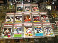 1980-81 OPC Hockey Complete set w/PSA 9/PSA 8 Messier, Gretzky, Langway,-BEAUTY!