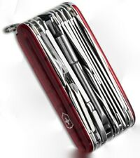 Victorinox Swiss Army Knife, Swisschamp XLT, Ruby Red, Knive 53504, New In Box