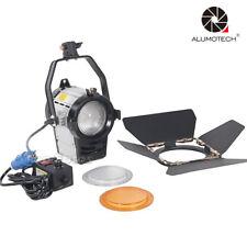 Bi-color 3200/5500K Fresnel 100W LED Dimmable Spot Light For Studio Photography