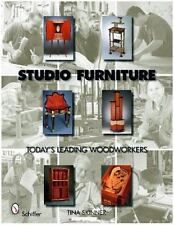 NEW Studio Furniture: Today's Leading Woodworkers by Tina Skinner Hardcover Book