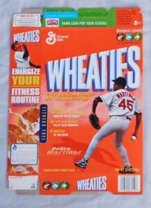 Pedro Martinez Boston Red Sox Wheaties Cereal Box