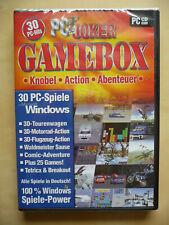 Gamebox, PC-Spiele, Windows, Knobel, Action, Abenteuer, Games, Motorrad, Auto