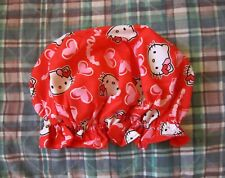 Hello Kitty Shower Cap~Handmade