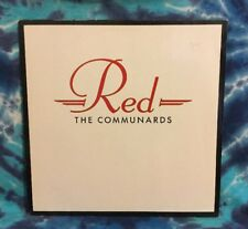 The Communards  LP  Red  IMPORT  Germany  METRONOME  (1987 Pressing)