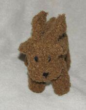 Baby Gap Vintage Brannan the Teddy Bear Xmas Reindeer Brown Plush Rattle Toy