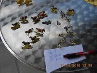 KonvoQ1 20 St. alte Airfix Figuren Britische Husaren 01743 Waterloo 1815 1:72