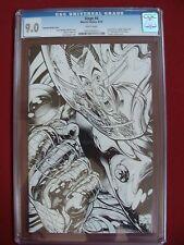 Marvel SIEGE #4 Sketch Variant IRON MAN CGC 9.0 VF/NM