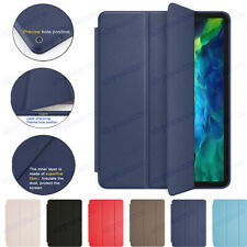 For iPad Pro 2020 11 inch 12.9 iPad 7th 10.2  Case Genuine Leather Smart  Cover