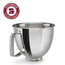 KitchenAid 3.5 Quart Polished Stainless Steel Bowl with Handle, KSM35SSFP