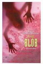 BLOB-orig '88 movie poster- KEVIN DILLON,SHAWNEE SMITH