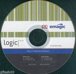 LOGIC - for  PC  --LOGIC MULTI-TRACK RECORDING STUDIO -Rare PC version !!!!!!!