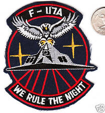 US Air Force Stealth Jet Fighter Bomber F-117A Squadron Patch Iraq Desert Storm