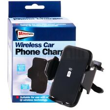 Qi Wireless Car Mobile Phone Charger Air Vent Mount For iPhone X 10 Galaxy S9 S8