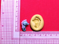 Baby Seahorse Silicone Mold A967 for Edible Cake Candy Chocolate Resin Fondant