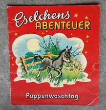 Eselchens Abenteuer / Puppenwaschtag   Puzzi-Büchlein Nr. 4