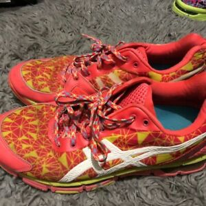 Well Worn Asics Netball Shoes Woman's Size 11
