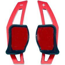 Schaltwippen Verlängerung rot passend für VW Golf 5 & 6 Seat Leon Skoda Octavia
