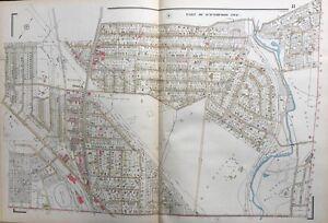 1929 DELAWARE COUNTY PENNSYLVANIA GOLF CLUB HAVERFORD TOWNSHIP ATLAS MAP