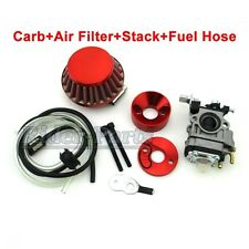 Goped Red Carburetor Air Filter Vstack 33 43 49cc 50cc 52 cc Scooter Pocket Bike