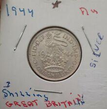 Great Britain; 1 Florin 1944 , IN AU/BU CONDITION!!! 90%+ SILVER