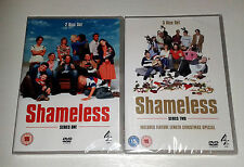 2 SHAMELESS SETS: SERIES 1 AND 2: TOTAL 5 DISKS: BOTH SETS NEW AND SEALED!!!!!!!