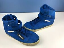 Mens Supra TK Society High Top Double Strap Shoes Size 14