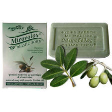 Greek Natural Soap with Mastic and Olive Oil 100g.