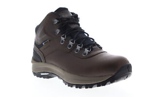 Hi-Tec Altitude VI I Wp 52216W Mens Brown Wide 2E Leather Hiking Boots 11.5