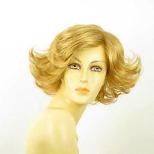 short wig for women smooth golden blond ref JEANETTE 24B PERUK