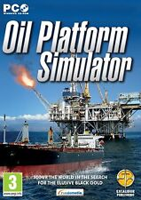 Oil Platform Simulator (PC CD) BRAND NEW SEALED ENGLISH