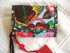 Tobacco Oilily Damen Brieftasche Geldbörse Wallet Farbe