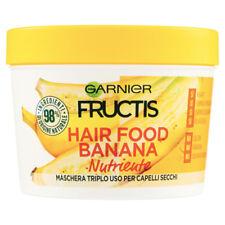 FRUCTIS HAIR FOOD BANANA NUTRIENTE  MASCHERA TRIPLO USO 390 ML
