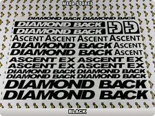 DIAMONDBACK ASCENT EX Stickers Decals Bicycles Bikes Cycles Frames Mountain 61X