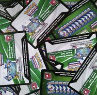 92 REBEL CLASH Online PTCGO Code Cards Lot UNUSED Digital Booster Pack POKÉMON