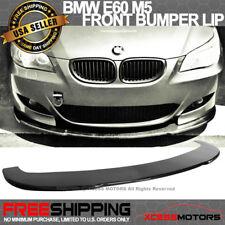 Fits 04-10 BMW E60 M5 Carbon Fiber Under Front Bumper Lip Spoiler Splitter