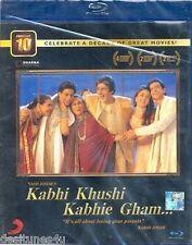 KABHI KHUSHI KABHIE GHAM ORIGINAL BOLLYWOOD BLU-RAY