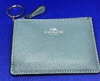 Coach ~ Key Chain/ID Skinny Wallet ~ Marine ~ F12186 ~ NWT!