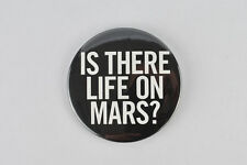"David Bowie large button! ""Life on Mars"" Hunky Dory , Berlin period, Brian Eno"