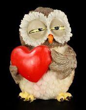 Verliebte Eule - Lustige Figur - Herz Geschenk Liebe witzig