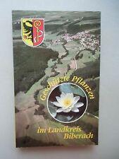Geschützte Pflanzen im Landkreis Biberach 1988
