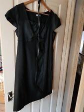 Womens Grey Per Una Belted Shift Dress. Size 18