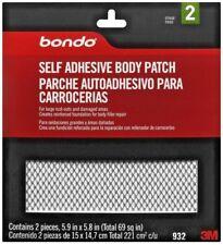 New Bondo 932 Self Adhesive Auto Body Patch Rust Repair