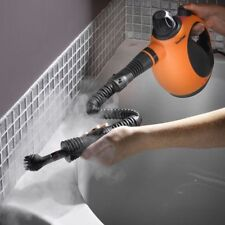 Small Steam Cleaner Hand Held Portable Electric Bathroom Home Window Glass Grout